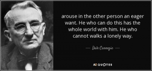 Dale Carnegie Eager Want